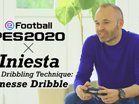 Andrés Iniesta: PES 2020 Gameplay Adviser.