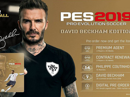 Win a copy of PES 2019 David Beckham edition ( PS4 )