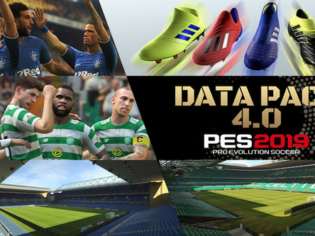 PES 2019 Data Pack 4 out now.