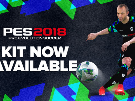 PES 2018 Official kit available to download