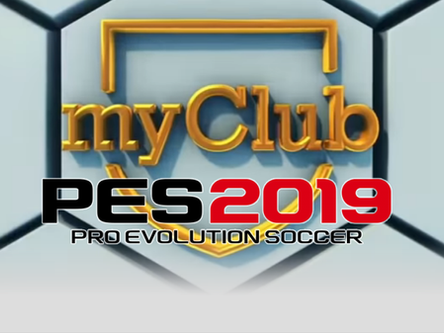 PES 2019 myClub trailer, Demo release date and preview video.