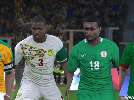 PES World AFCON / African national teams pack out now.