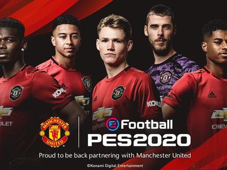 Konami announce Manchester United partnership. Club edition announced.