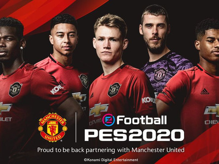 Konami announce Manchester United partnership. Club edition announced.