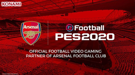 Konami and Arsenal FC announce partnership extension. Arsenal club edition announced.
