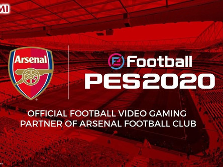 Konami and Arsenal FC announce partnership extension. Arsenal club edition announced.
