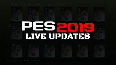 PES 2019 Live Updates service to discontinue after the 6th June.