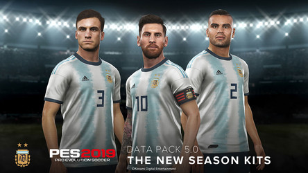 PES 2019 Data Pack 5.0 full details.