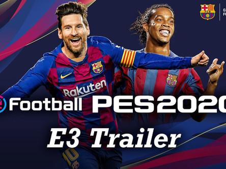 PES 2020 official E3 trailer