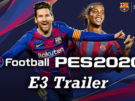 PES 2020 official E3 trailer