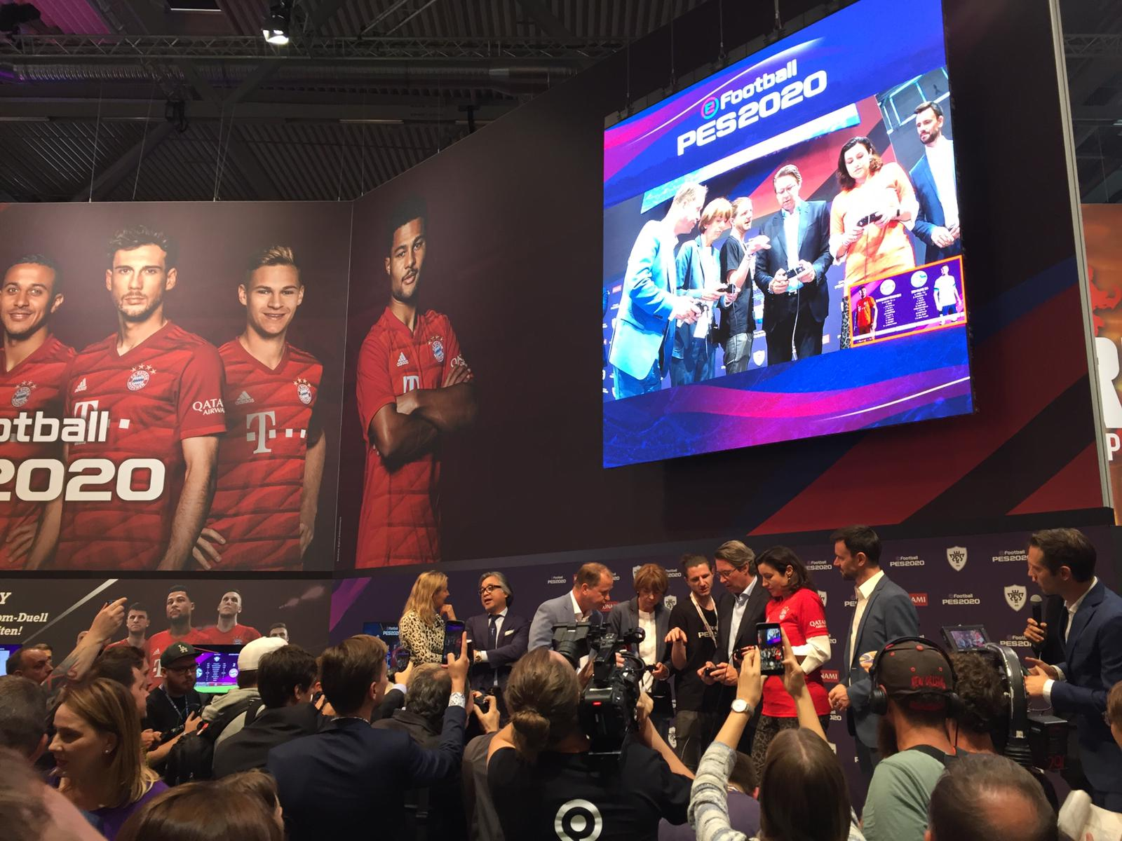 eFootball PES 2020 @ Gamescom 2019 round up part 1