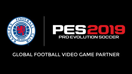 Rangers Announced As New PES 2019 Partner Club.