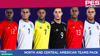 PES World North and Central America teams pack out now.