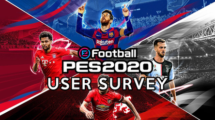 Have your say, take the eFootball PES 2020 Survey.