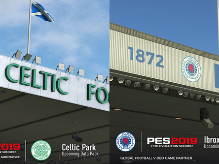 Ibrox and Celtic Park stadiums coming February 2019.