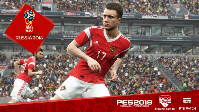 PES World PES 2018 World Cup 2018 updates out now
