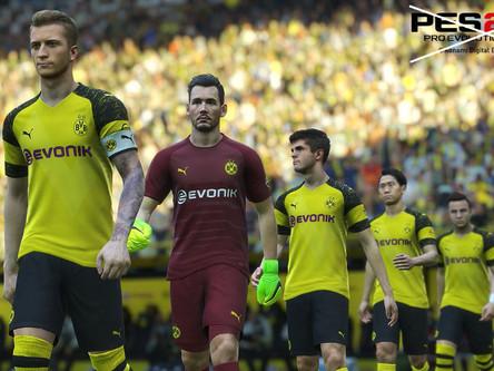 Borussia Dortmund terminate PES license agreement.