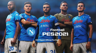 Konami announces long term partnership with SSC Napoli.