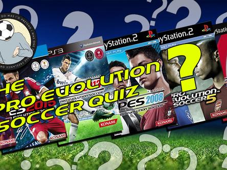 Take the Pro Evolution Soccer quiz