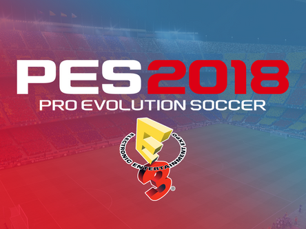Live from E3. PES 2018 game play with Adam Bhatti
