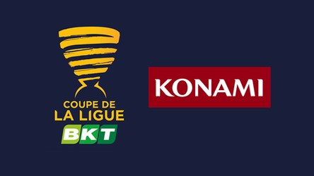 Konami signs on as major Coupe de La Ligue BKT sponsor.