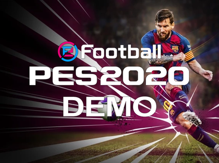 eFootball PES 2020 demo date announced.