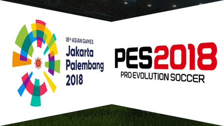 PES 2018 chosen as one of the competition games at the 2018 Asian games.