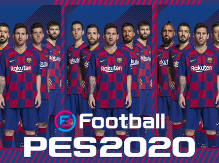 eFootball PES 2020 Club Edition: Choose the 5 FC Barcelona cover stars.