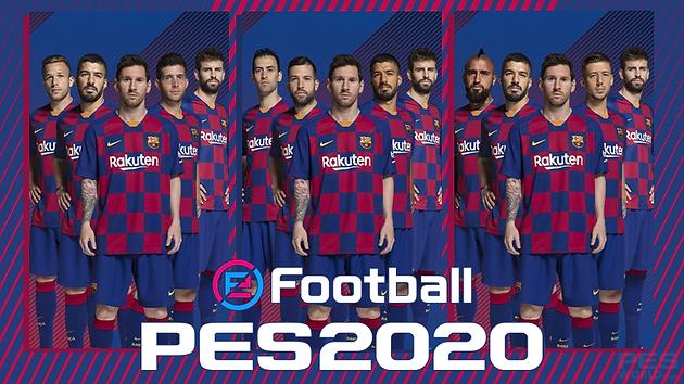 eFootball PES 2020 Club Edition: Choose the 5 FC Barcelona ...