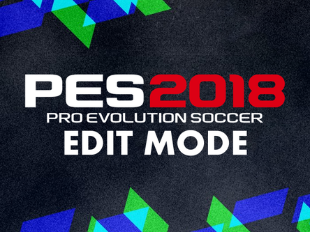 PES World PES 2018 Edit Mode Reveal