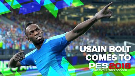 What Would PES Ambassador Usain Bolt Be Like as a Real-Life Striker?