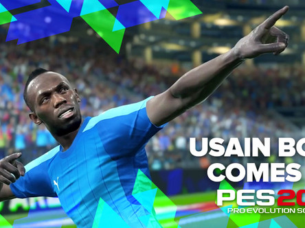 What Would PES Ambassador Usain Bolt Be Like as a Real-Life Striker?
