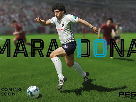 Diego Maradona anounced as PES ambassador