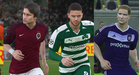PES World Champions / Europa league pack out now.