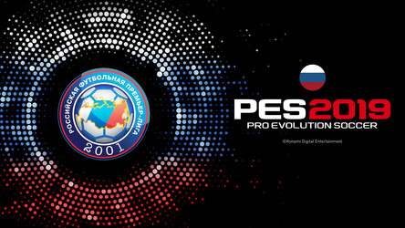 Russian Premier League Exclusive to PES 2019