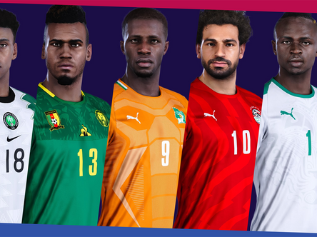 We're back....kinda. Africa national teams update out now.