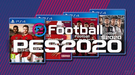 eFootball PES 2020 club editions and where to get them