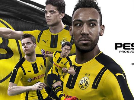 Borussia Dortmund license announced, PES 2017 demo date, Gamescom trailer and more....