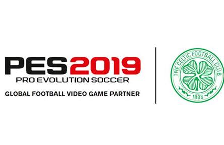 Celtic join PES 2019 partner club roster.