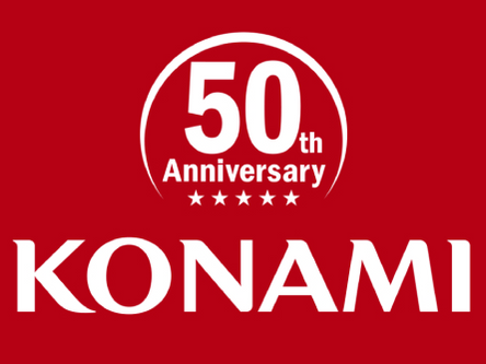 KONAMI 50th Anniversary Login Campaign