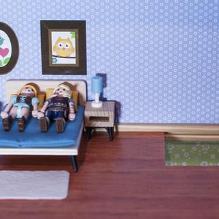 Décor  maison de poupées
