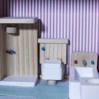 Décor,  maison de poupées