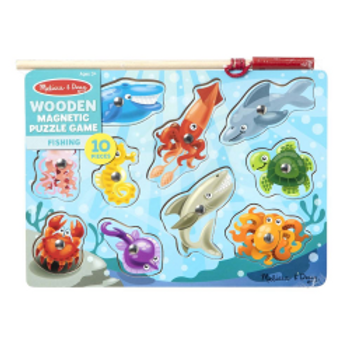 Magnetic Puzzle Game - Fishing