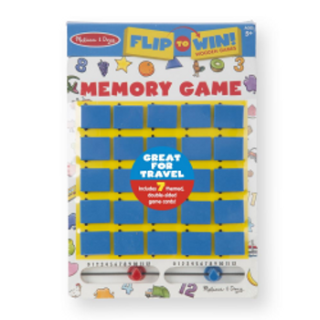 Flip To Win Memory Game (Wooden)