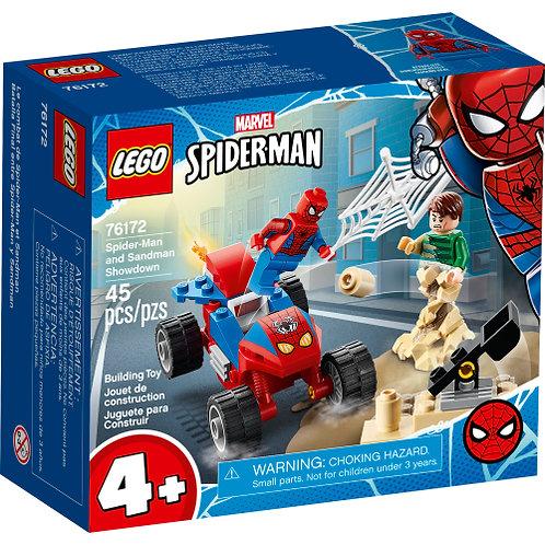 Spider-Man and Sandman Showdown