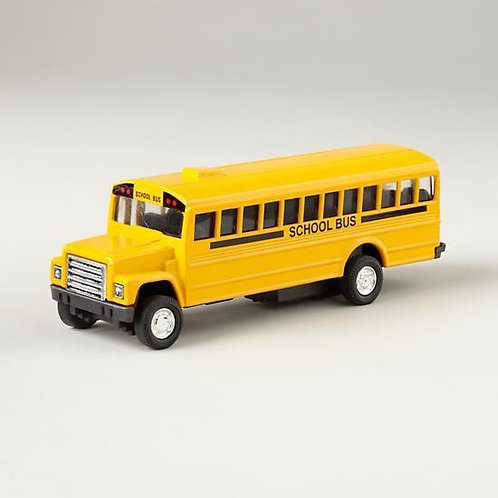 Die Cast Pullback School Bus