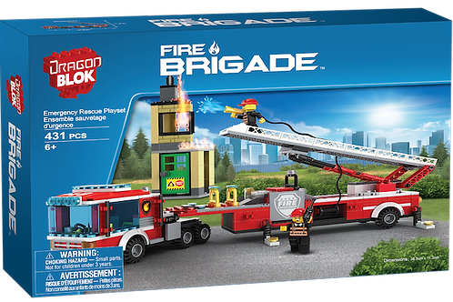 Fire Brigade Emergency Resuce (Dragon Blok)