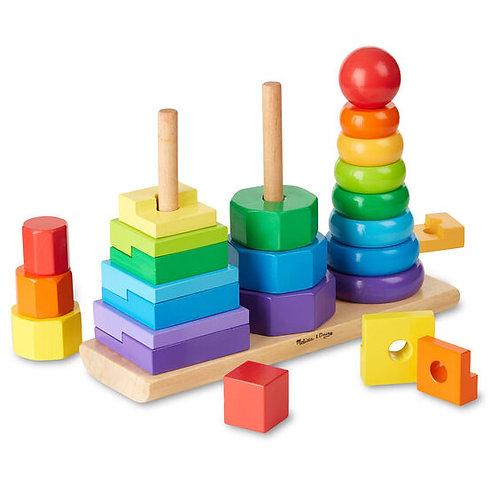 Geometric stacker