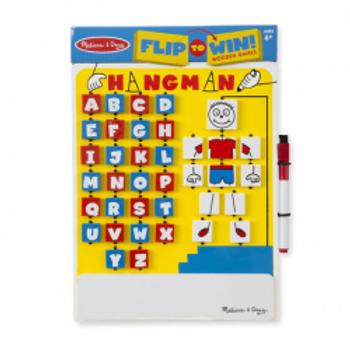 Flip To Win Hangman Game (Wooden)