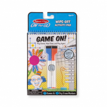 Wipe-Off Activity Pad